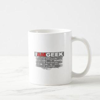 Eu sou geek caneca de café