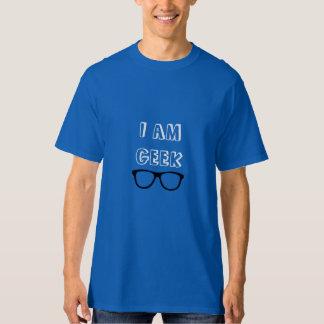 Eu sou geek tshirts