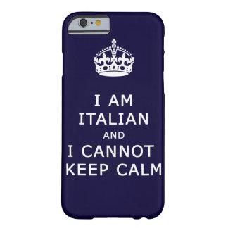 eu sou italiano e eu não posso manter a capa de capa barely there para iPhone 6