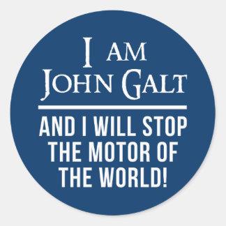 Eu sou John Galt Adesivo