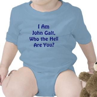 Eu sou John Galt, que é você? T-shirt