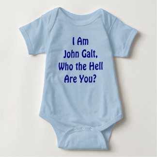 Eu sou John Galt, que é você? Camisetas