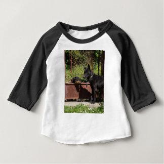 Eu sou o chefe camiseta para bebê