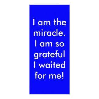 Eu sou o milagre 10.16 x 22.86cm panfleto