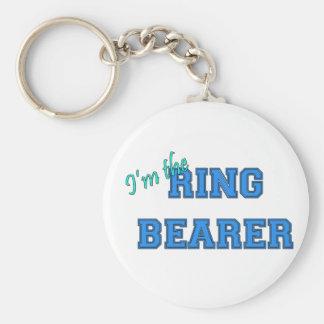 Eu sou o portador de anel chaveiro
