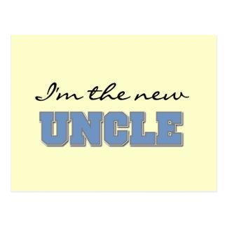 Eu sou o tio novo Camiseta e presentes Cartão Postal