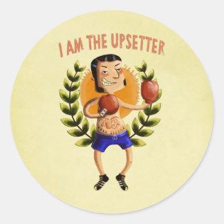 Eu sou o Upsetter Adesivo