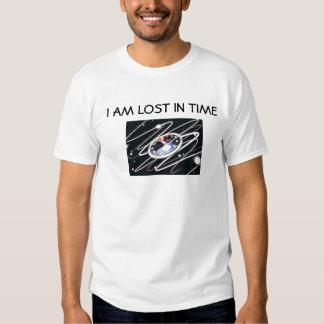 Eu sou perdido a tempo t-shirt