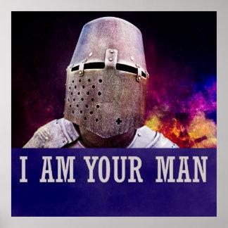 Eu sou seu homem pôster