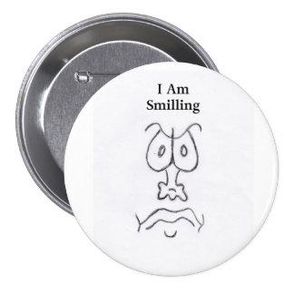 EU SOU SMILLING BÓTON REDONDO 7.62CM