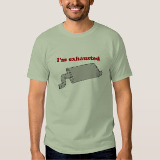 Eu sou t-shirt esgotado