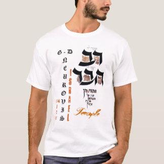 EU SOU templo de ISRAEL do JUDEU Tshirts
