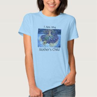 Eu sou Tshirt da criança da minha mãe
