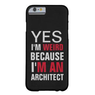 Eu sou um arquiteto capa barely there para iPhone 6