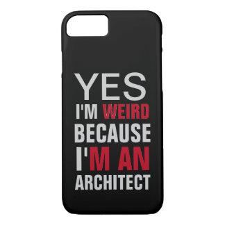 Eu sou um arquiteto capa iPhone 7