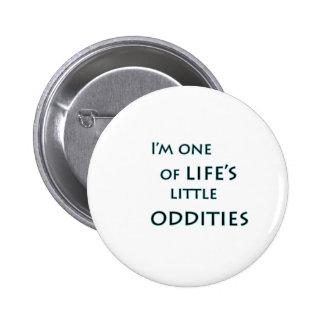 Eu sou um do botão engraçado das estranhezas bóton redondo 5.08cm