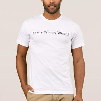Eu sou um feiticeiro do dominó camiseta