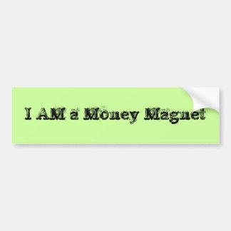 Eu sou um ímã do dinheiro adesivo para carro