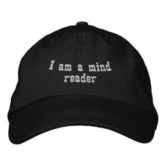 Eu sou um leitor de mente boné