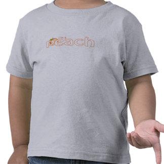 Eu sou um pêssego (a criança) tshirt