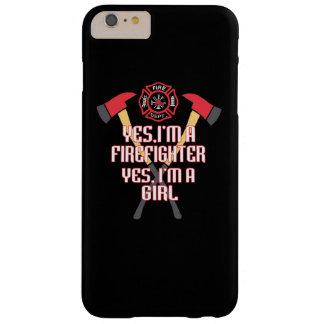 Eu sou um sapador-bombeiro e uma menina capa barely there para iPhone 6 plus