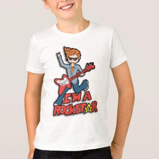 Eu sou um t-shirt rockstar dos meninos