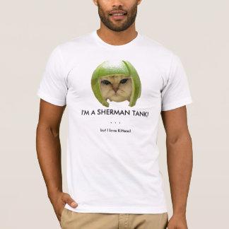 Eu sou UM TANQUE de SHERMAN! T-shirts