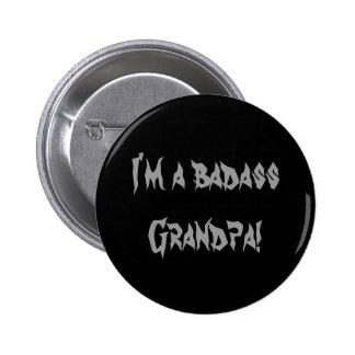 Eu sou um vovô dos badass! botão bóton redondo 5.08cm