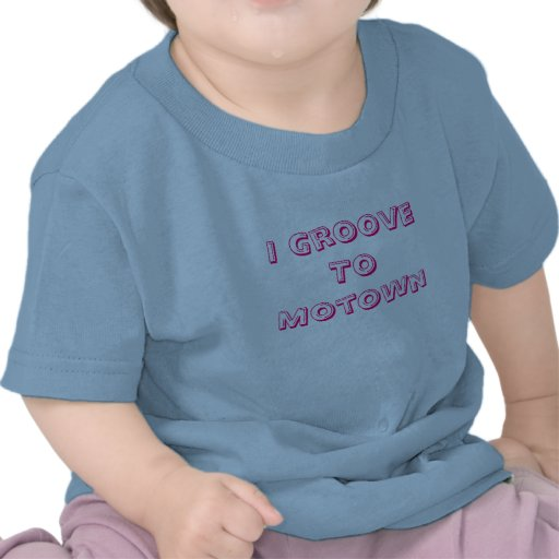 Eu sulco a Motown T-shirts