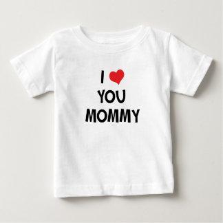 Eu te amo mamães - t-shirt do presente do dia das