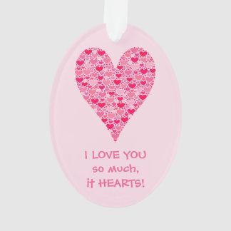 Eu te amo tanto ele coração grande dos corações mi