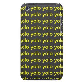 eu-toque 4 do caso do embarque de yolo capa para iPod touch