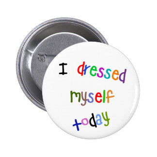 Eu vesti-me hoje boton