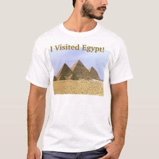 Eu visitei Egipto Tshirts