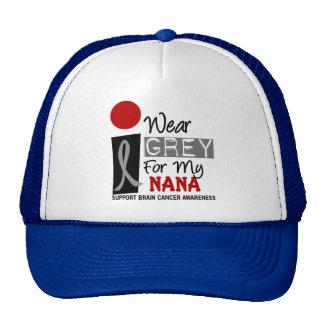 Eu visto o cinza para minha Nana 9 t-shirt do CANC Bonés
