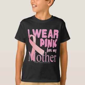 Eu visto o rosa para minha consciência do cancro camiseta