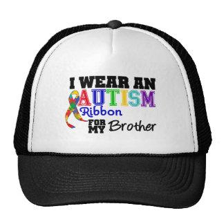 Eu visto uma fita do autismo para meu irmão boné