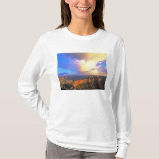 EUA, arizona, parque nacional do Grand Canyon. Camiseta