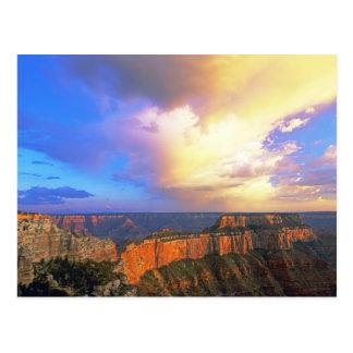 EUA, arizona, parque nacional do Grand Canyon. Cartão Postal