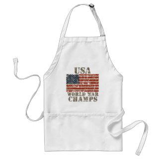 EUA, campeões da guerra mundial Avental