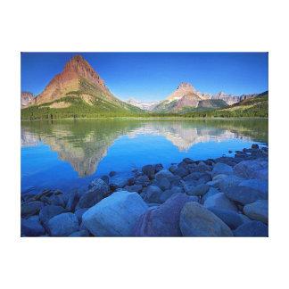 EUA, Montana, parque nacional 4 de geleira Impressão De Canvas Envolvida