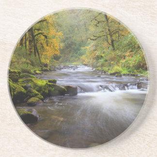 EUA, Oregon, desfiladeiro do Rio Columbia, angra Porta Copos De Arenito