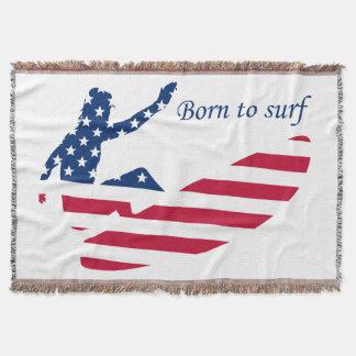 EUA que surfam o surfista americano Manta
