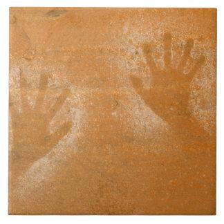 EUA, Utá, Mão-impressões da imagem gráfica no Azulejo De Cerâmica