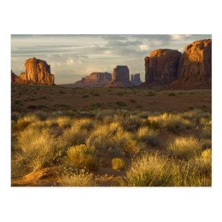 EUA, Utá, parque nacional do vale do monumento Cartão Postal