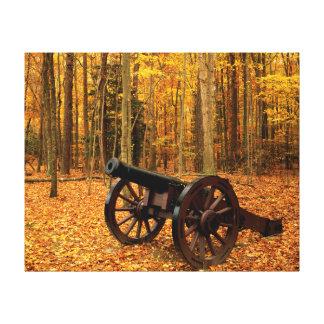 EUA, Virgínia, histórico nacional colonial Impressão De Canvas Esticada