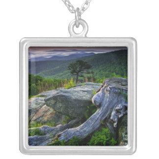 EUA, Virgínia, parque nacional de Shenandoah Colar Banhado A Prata