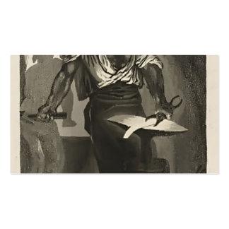 Eugene Delacroix- um ferreiro Cartão De Visita