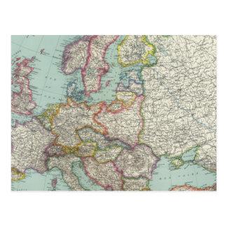 Europa 31 cartões postais