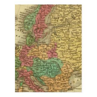 Europa 8 cartão postal